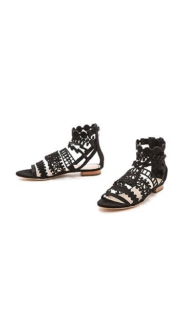 Loeffler Randall Dixie Cutout Sandals