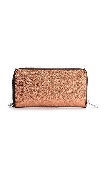 Loeffler Randall Zip Wallet