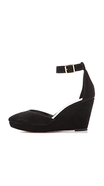 Loeffler Randall Jules Low Wedge Pumps