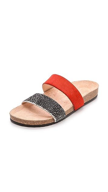 Loeffler Randall Paz Two Band Sandals