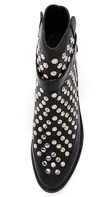 Loeffler Randall Federica Studded Flat Booties