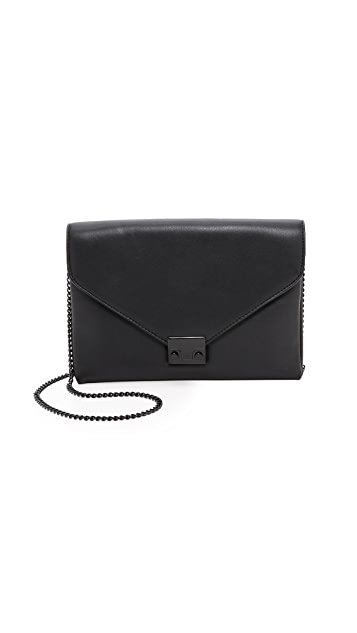 Loeffler Randall Lock Clutch - Black