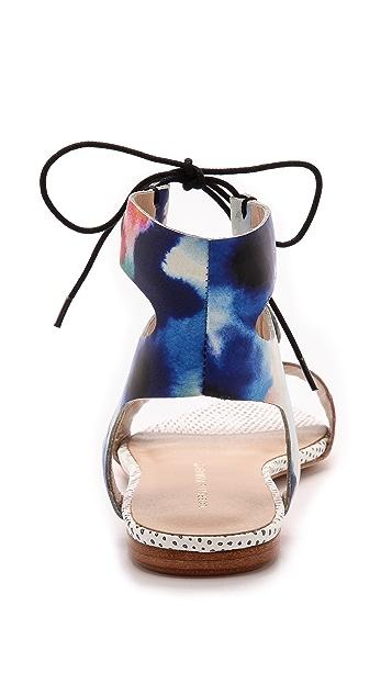 Loeffler Randall Alexa Flat Sandals