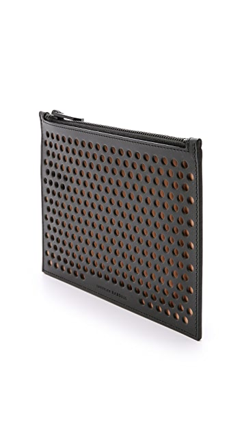 Loeffler Randall Small Perforated Pouch