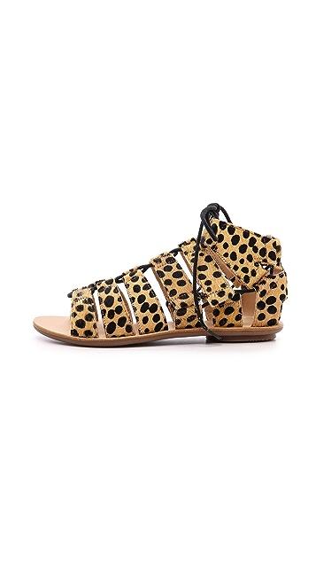 Loeffler Randall Skye Haircalf Gladiator Sandals