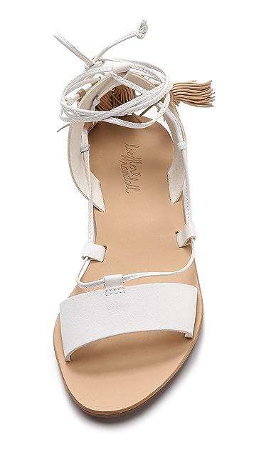 Loeffler Randall Saffron Tassel Sandals