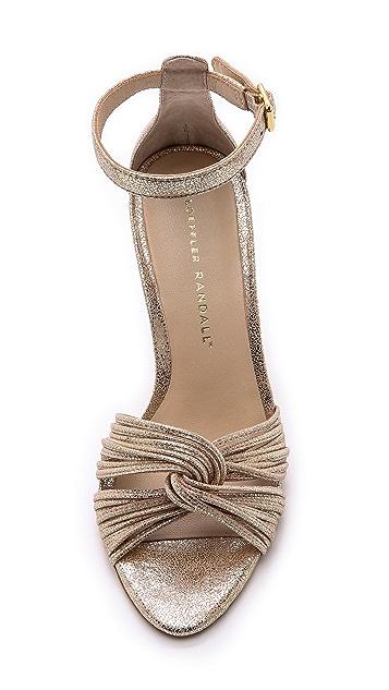 Loeffler Randall Allegra Wedge Sandals