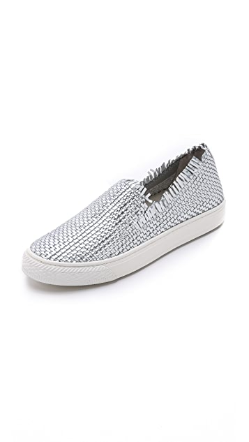 Loeffler Randall Woven Slip-On Sneakers outlet many kinds of from china free shipping best store to get cheap online amazing price online NIQ2MPd