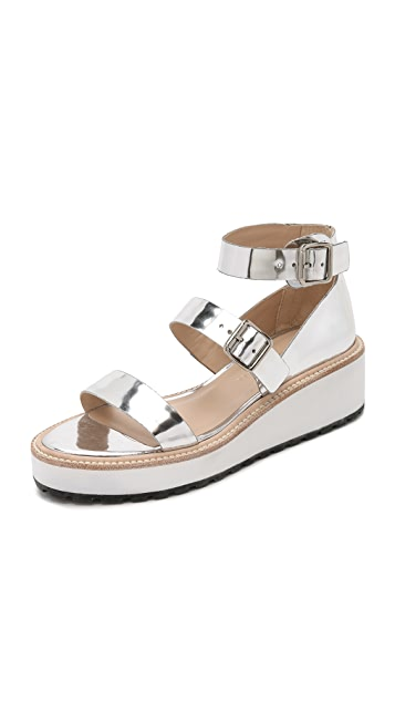 Pia Wedge Sandals by Loeffler Randall