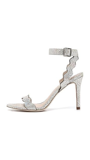 Loeffler Randall Amelia Hologram Sandals