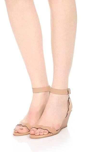 Loeffler Randall Minnie Wedge Sandals