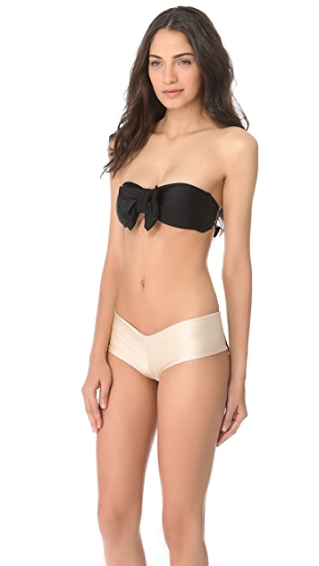 Lolli Bow Bandeau Bikini Top