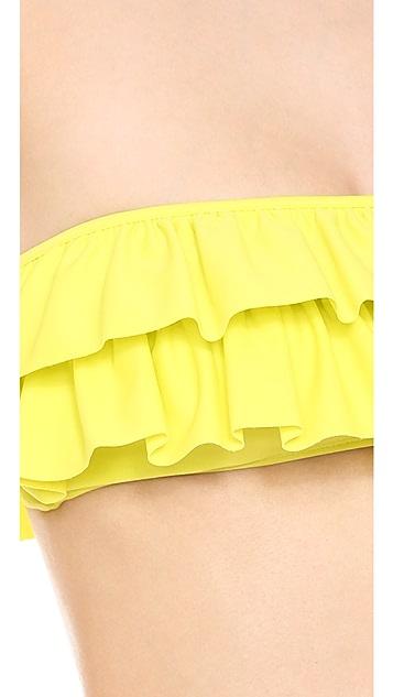 Lolli Ruffle Bandeau Bikini top