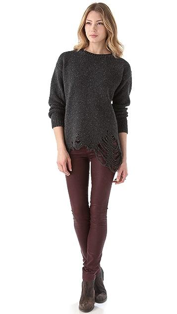 Lot78 Frayed Sweater
