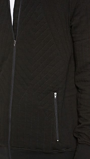 Lot78 Quilted Track Jacket