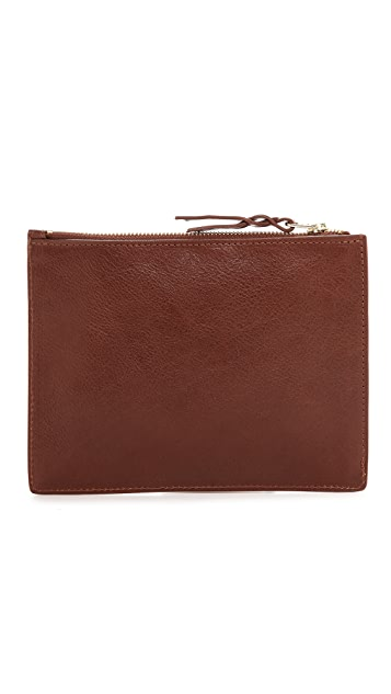 Lotuff Leather Zipper #7 Pouch
