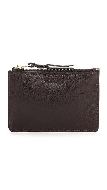 Lotuff Leather Zipper #5 Pouch