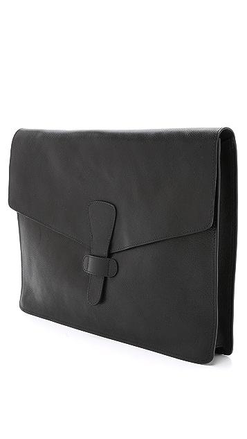 Lotuff Leather 15 Inch Leather Portfolio