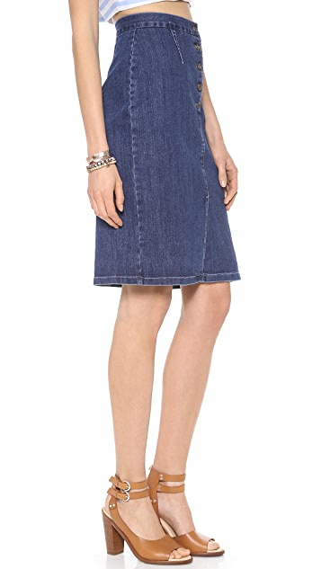 Loup Pencil Skirt