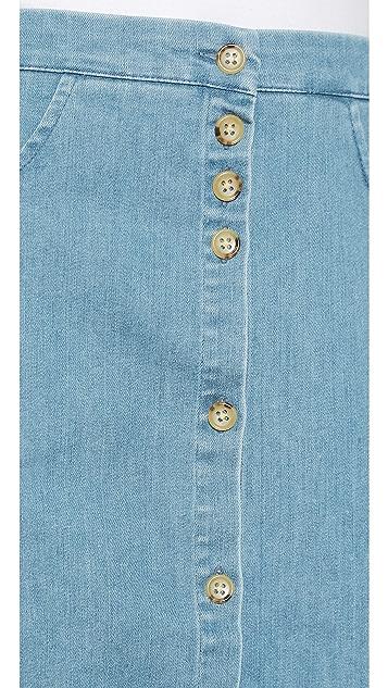 Loup Streep Skirt