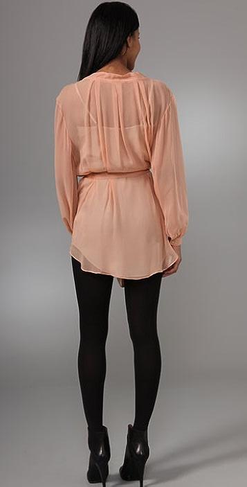 Lover Watercolor Shirtdress
