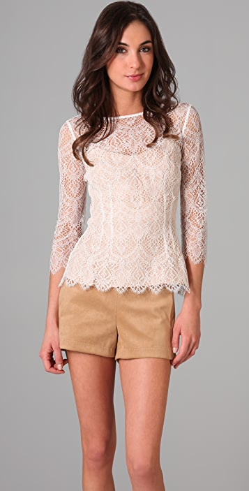 Lover The Muse Lace Blouse