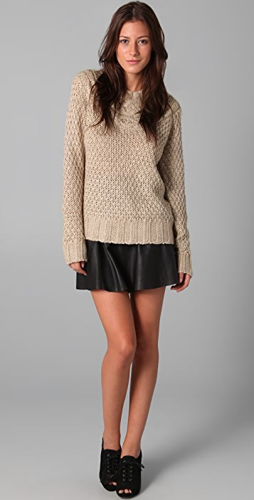 Lover Cable Knit Sweater