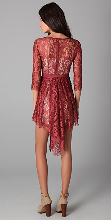 Lover Serpent Lace Dress