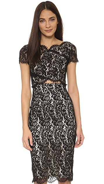Lover Vee Vee Splice Dress