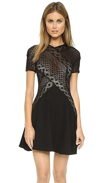 Lover Linear Mini Dress