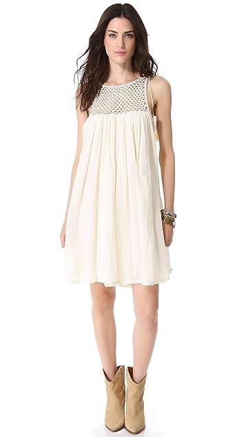 Love Sam Beaded Gauze Dress
