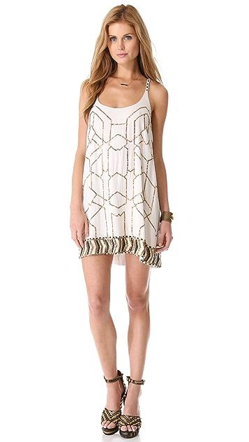 Love Sam Beaded Mini Dress
