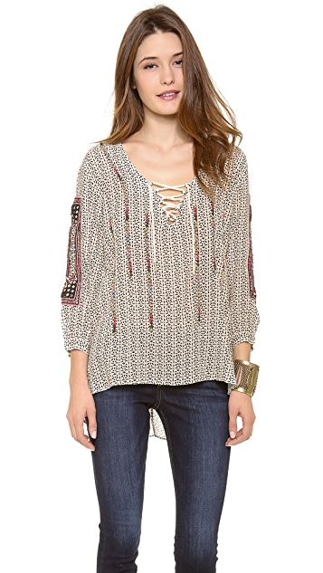 Love Sam Embroidered Tunic