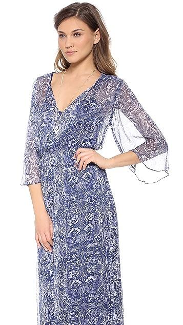 Love Sam Paisley Maxi Dress