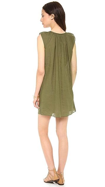 Love Sam Ikat Beaded Dress