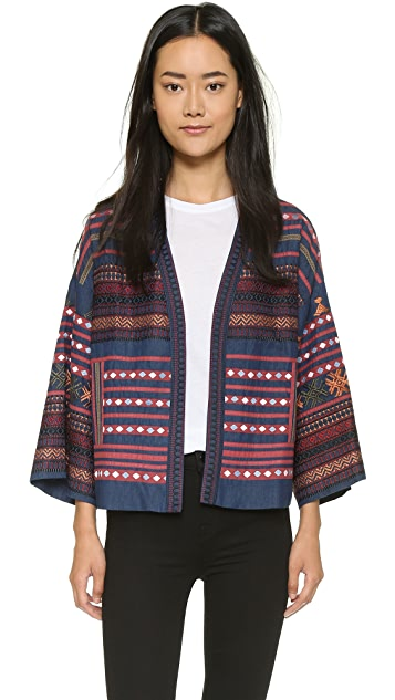 Love Sam Baja Embroidered Jacket