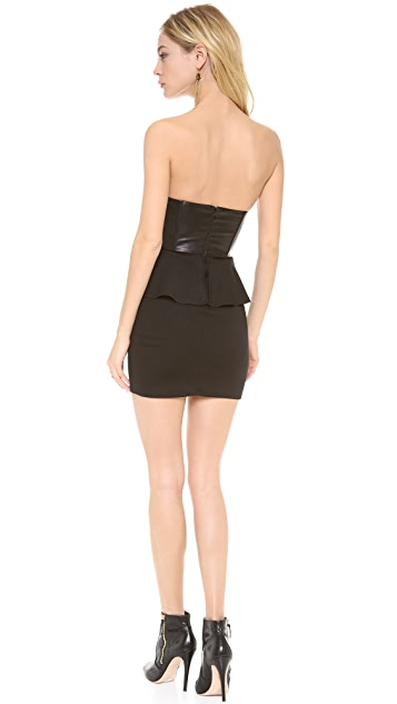 Lovers + Friends Love Rush Peplum Dress