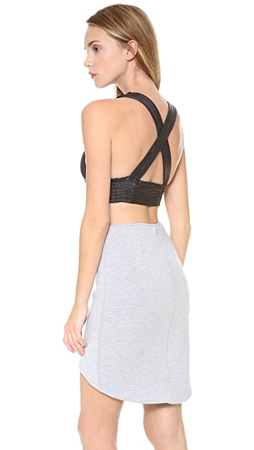 Lovers + Friends Strappy Cropped Tank