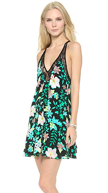 Lovers + Friends Hula Babydoll Dress