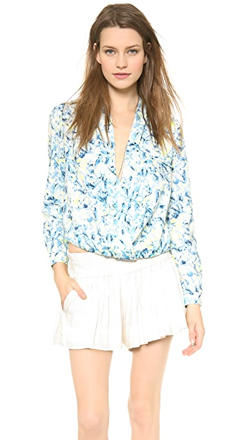Lovers + Friends Get Down Blouse