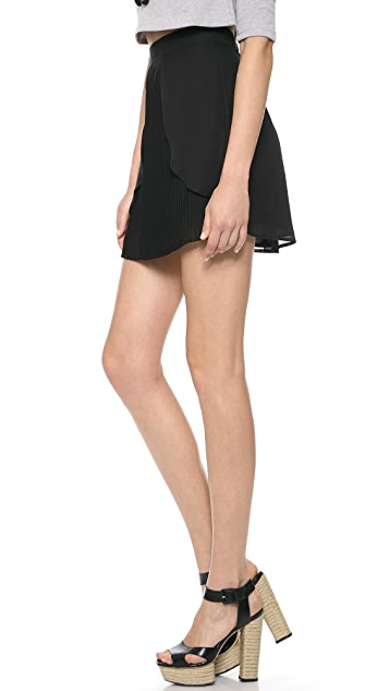 Lovers + Friends Monica Rose Cruz Skirt