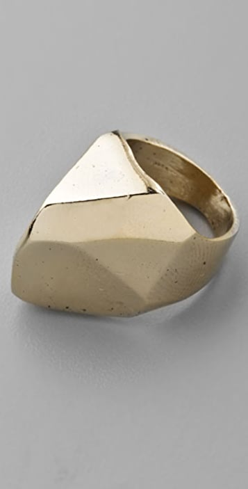 Low Luv x Erin Wasson Faceted Boulder Ring