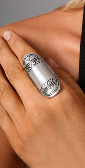Low Luv x Erin Wasson Aztec Finger Ring