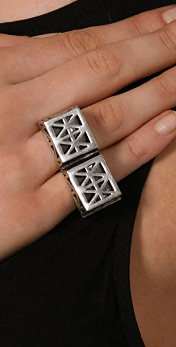 Low Luv x Erin Wasson Double Finger Ring