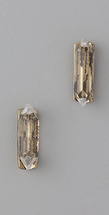 Low Luv x Erin Wasson Crystal Stud Earrings