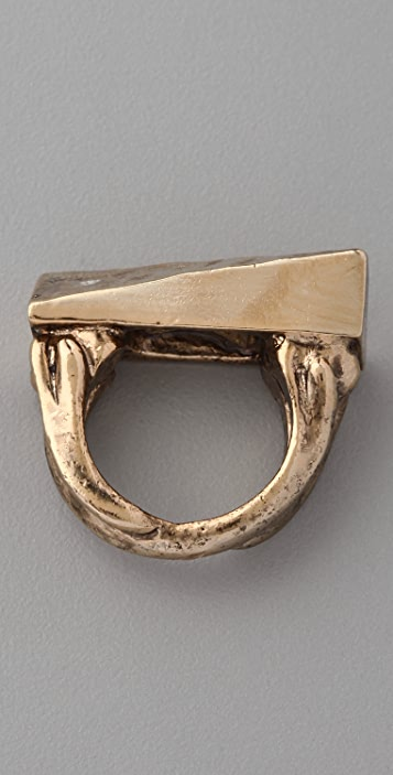 Low Luv x Erin Wasson Hammered Shank Ring