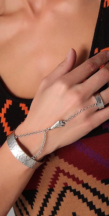 Low Luv x Erin Wasson Arrowhead Hand Cuff
