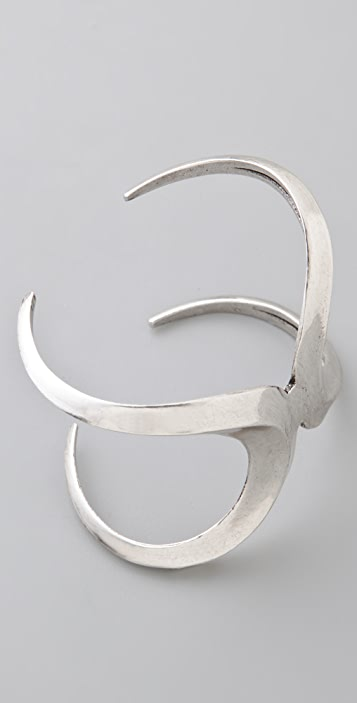 Low Luv x Erin Wasson Double Crescent Moon Cuff