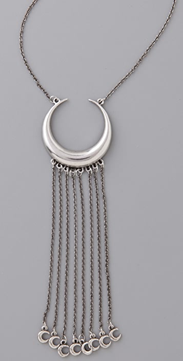 Low Luv x Erin Wasson Crescent Pendant Necklace