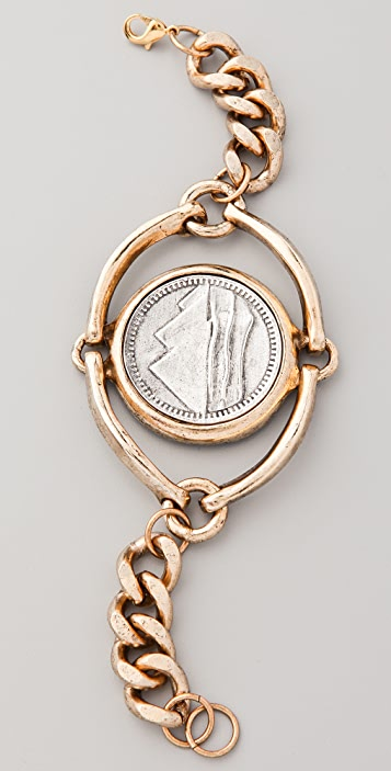 Low Luv x Erin Wasson Horse Bit and Coin Bracelet